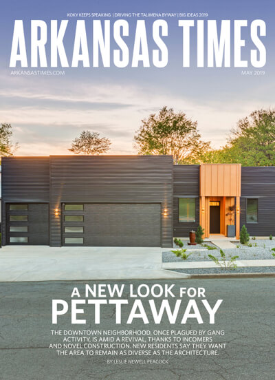 Arkansas Times - Pettaway issue cover