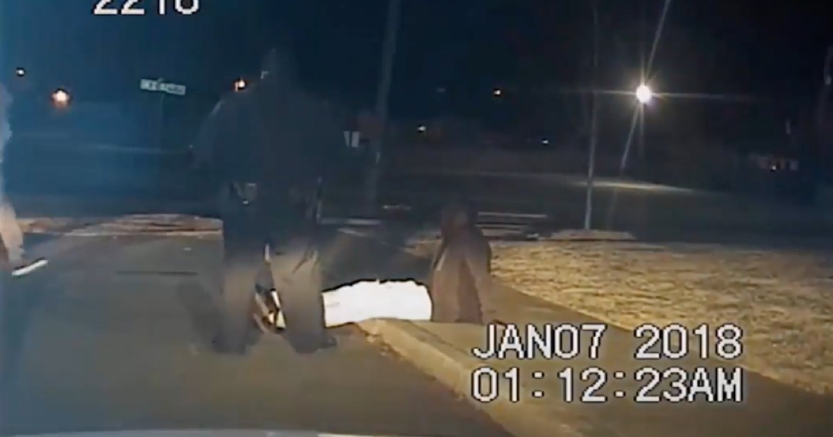 NLRPD releases footage of officer shooting Charles Smith
