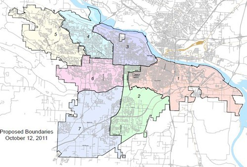 Little Rock ward proposal redrawn - Arkansas Times