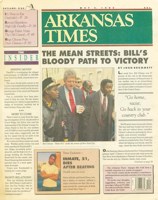 Tgif Presidential Countdown Just 361 >> How The Arkansas Times Survived Poverty The Dixie Mafia The U S
