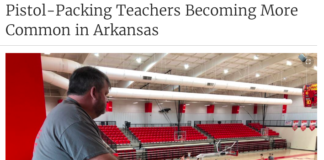 World learns about rise in pistol-packing Arkansas teachers
