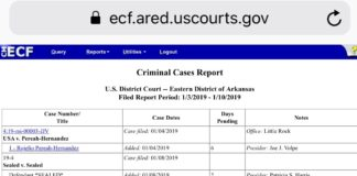 Federal court watch: Four sealed indictments this week - Arkansas Times