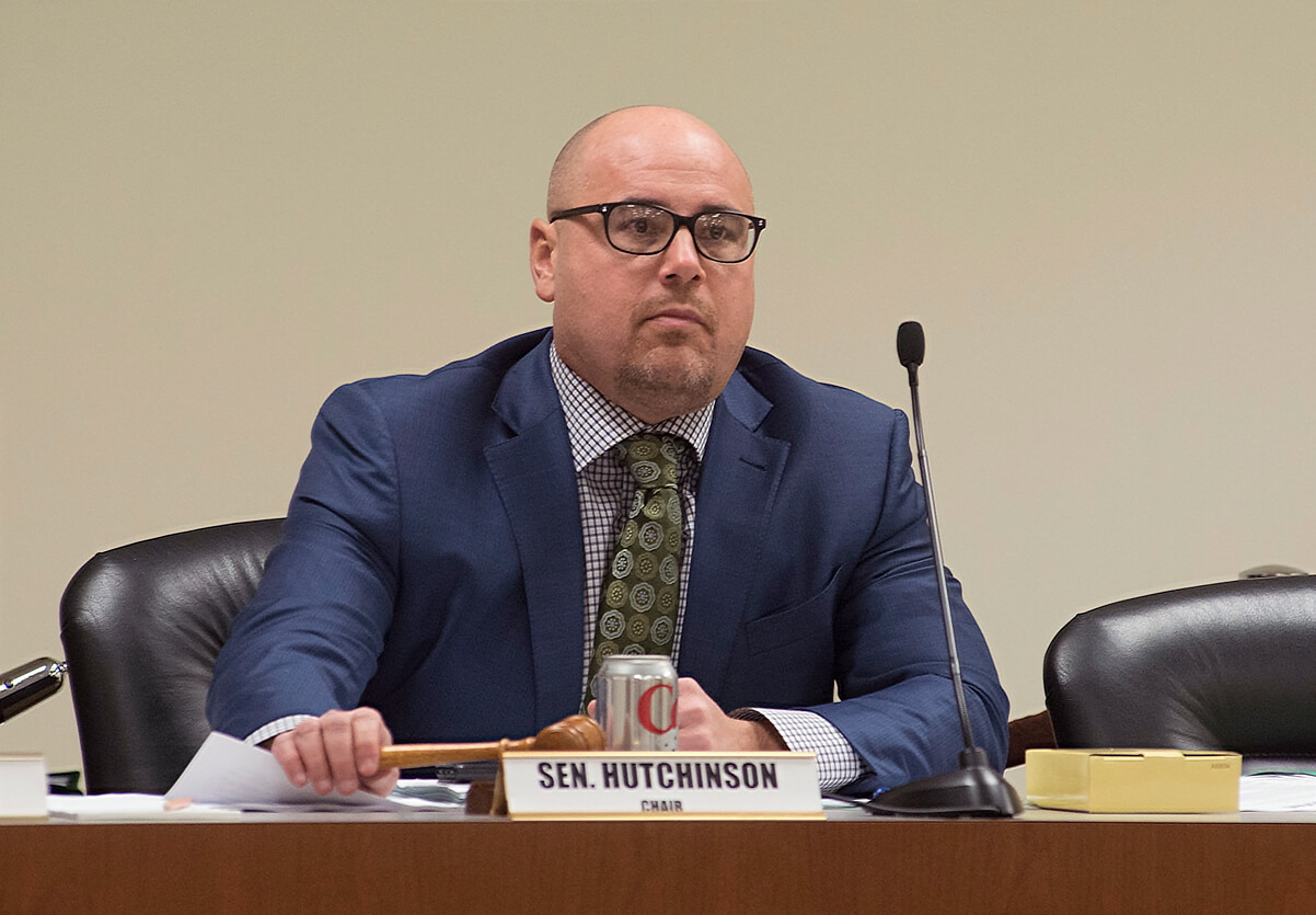 Picture of former state Sen. Jeremy Hutchinson, Republican of Little Rock