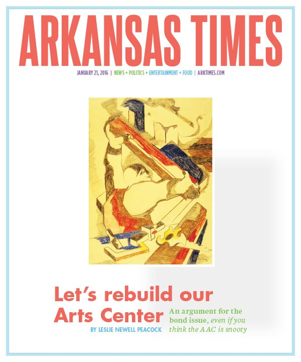 Let's rebuild our Arts Center