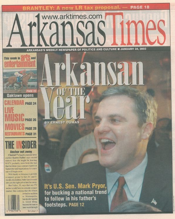 Arkansan of the Year: Mark Pryor