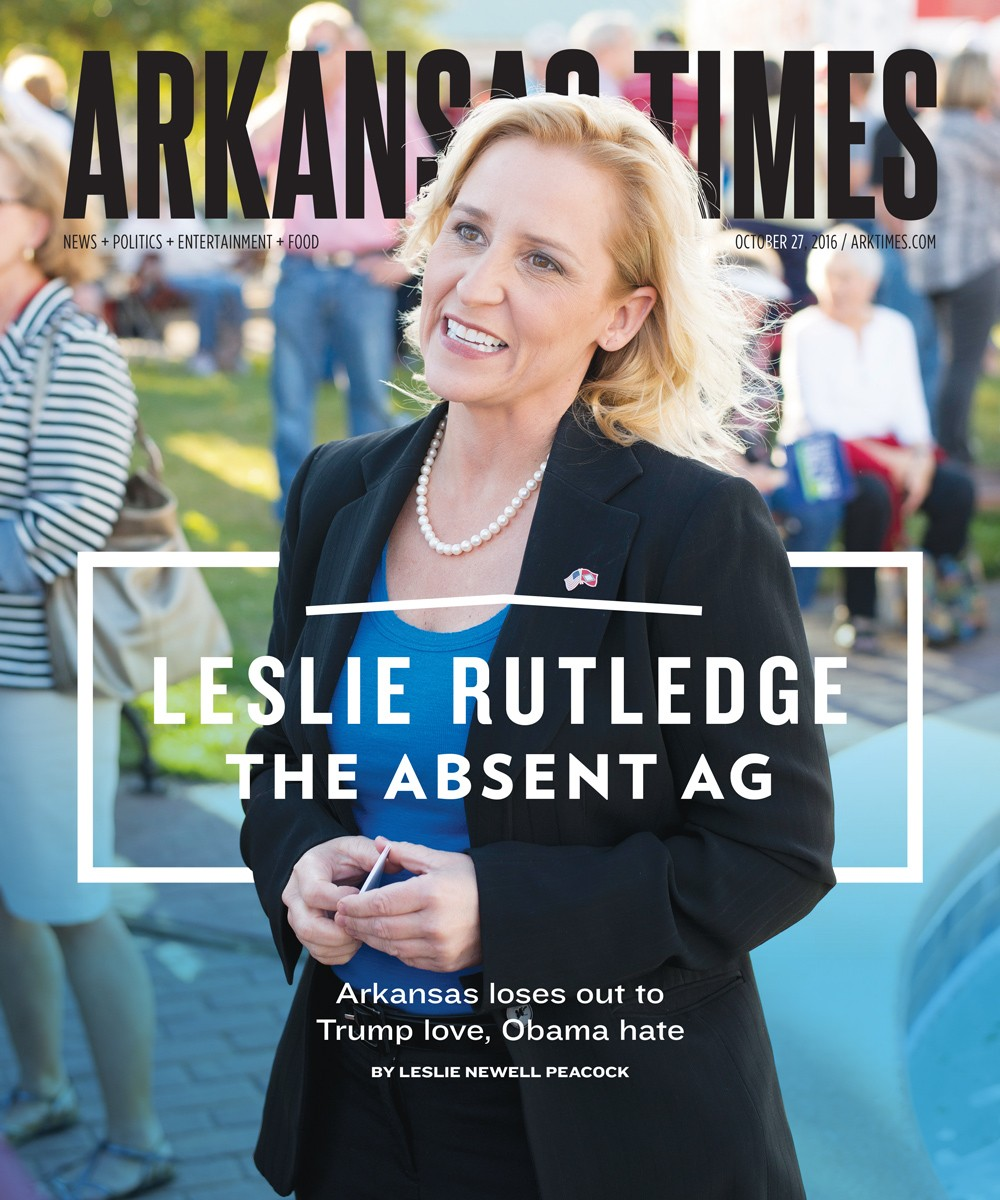 Leslie Rutledge: The Absent AG