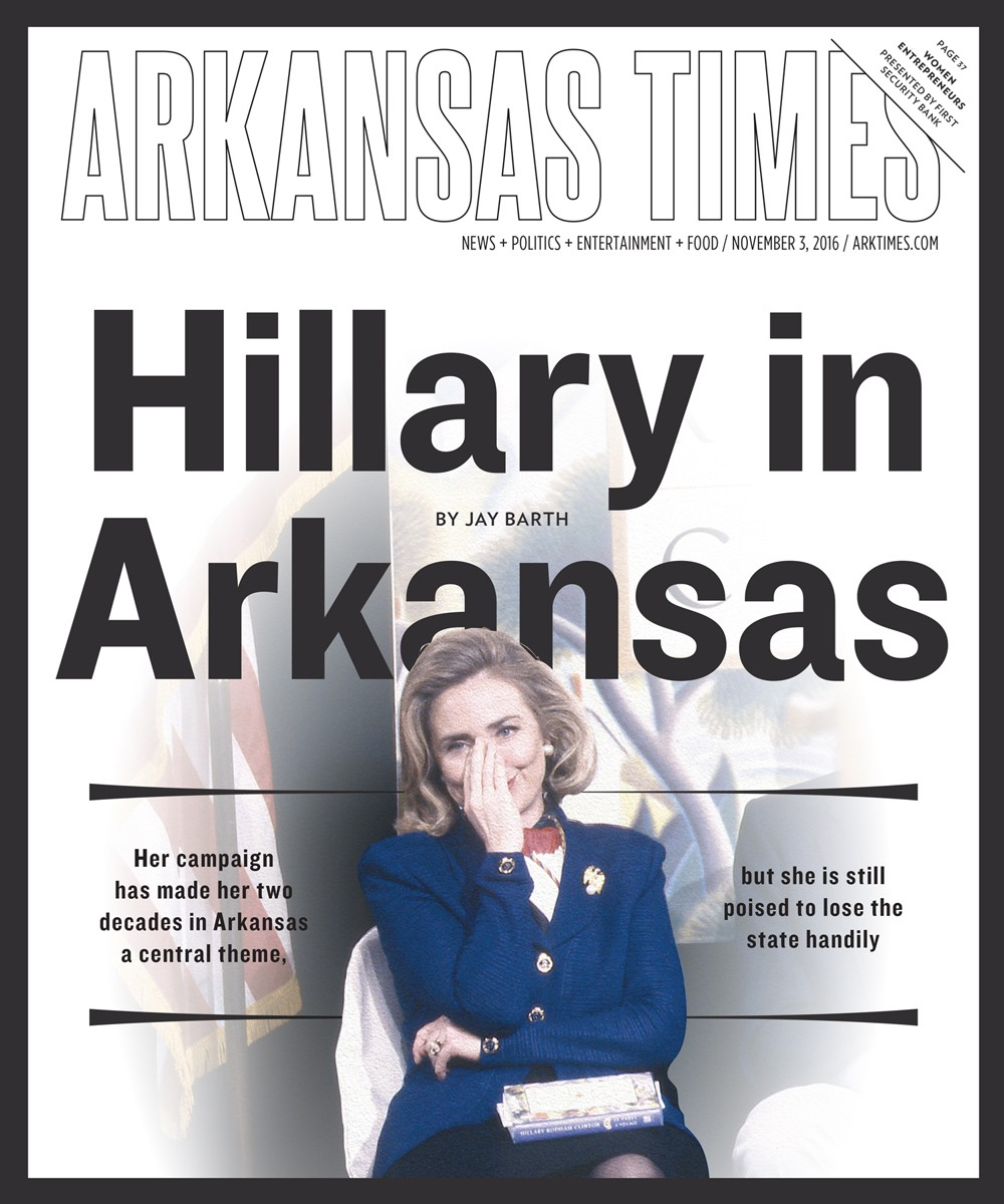 Hillary in Arkansas