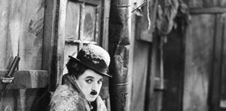 Charlie Chaplin still from the film Gold Rush