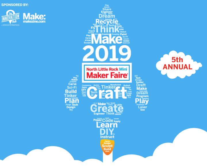 mini maker faire logo