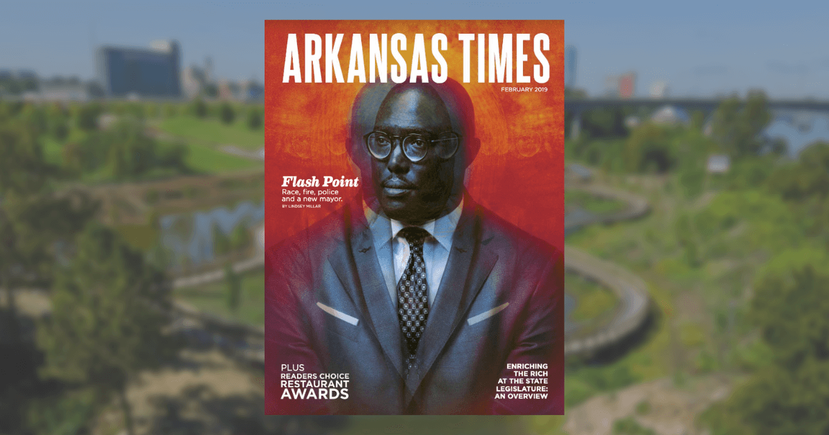 Picture of the Arkansas Times monthly magazine