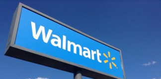 Image of Walmart sign
