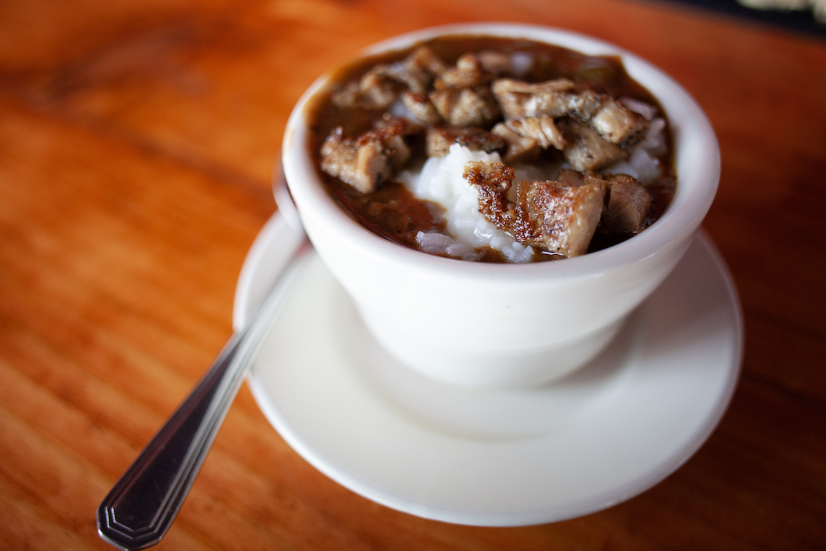 Picture of the duck gumbo at The Capital Seafood House