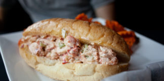 Picture of lobster roll from The Capital Seafood House