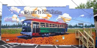 Picture of Stifft Station mural