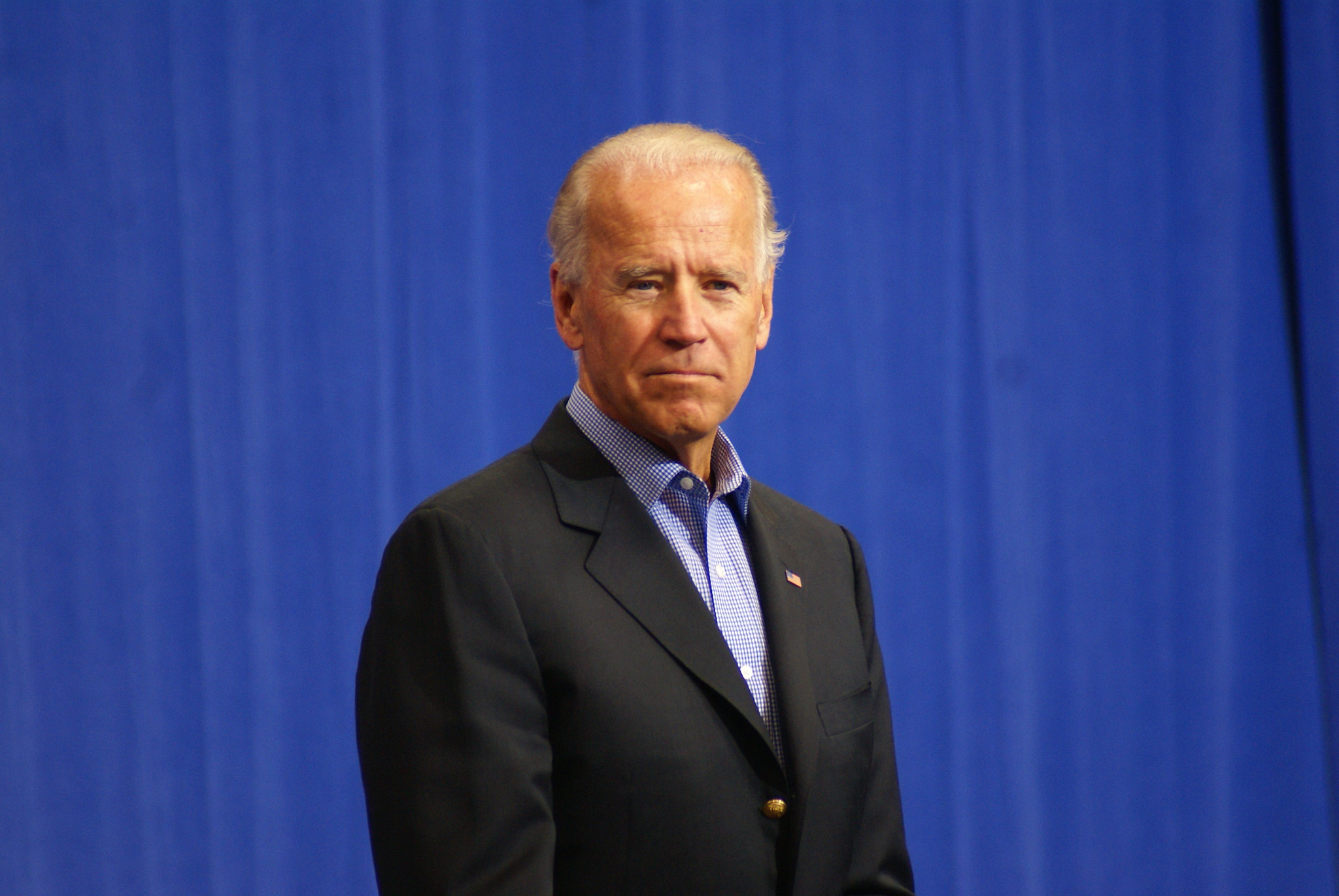 Picture of Joe Biden onstage