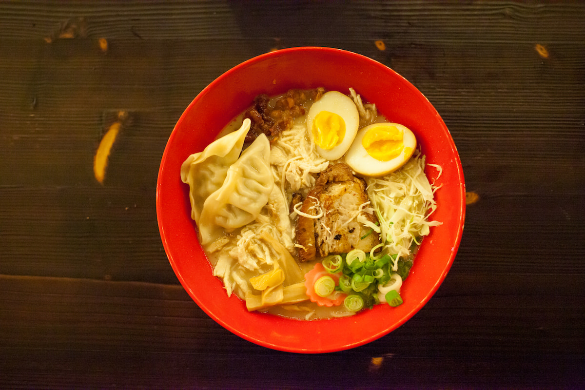 Picture of the Big Boy Bowl at That Ramen Place in Little Rock
