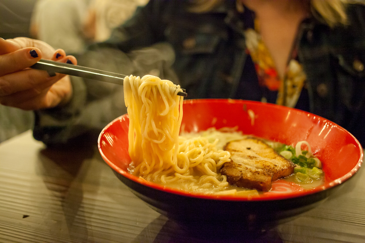 picture of the Underbelly Bowl at That Ramen Place in Little Rock