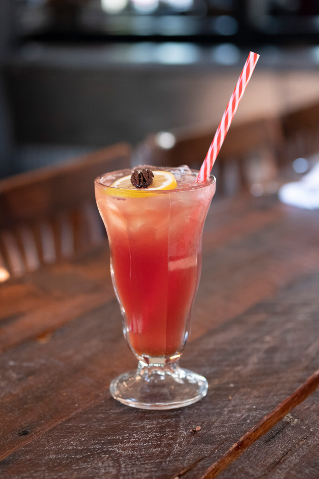 South on Main's Ginger Beer and cranberry juice image