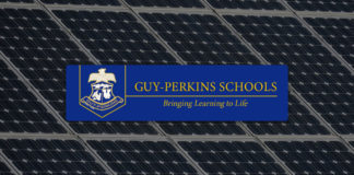 Guy Perkins School District Goes Solar
