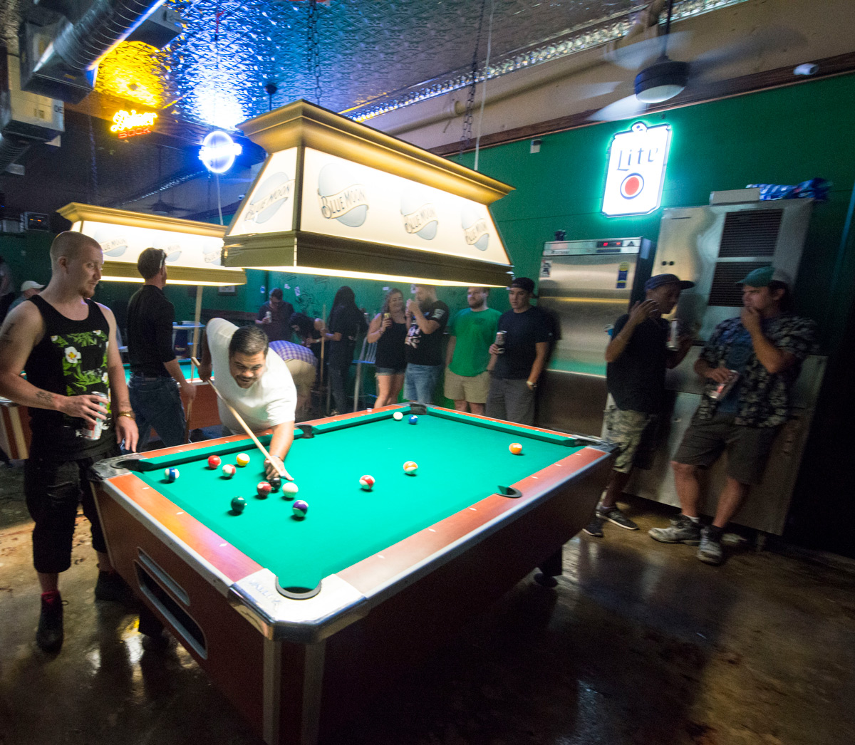 Picture of people playing pool at Midtown Billiards in Little Rock