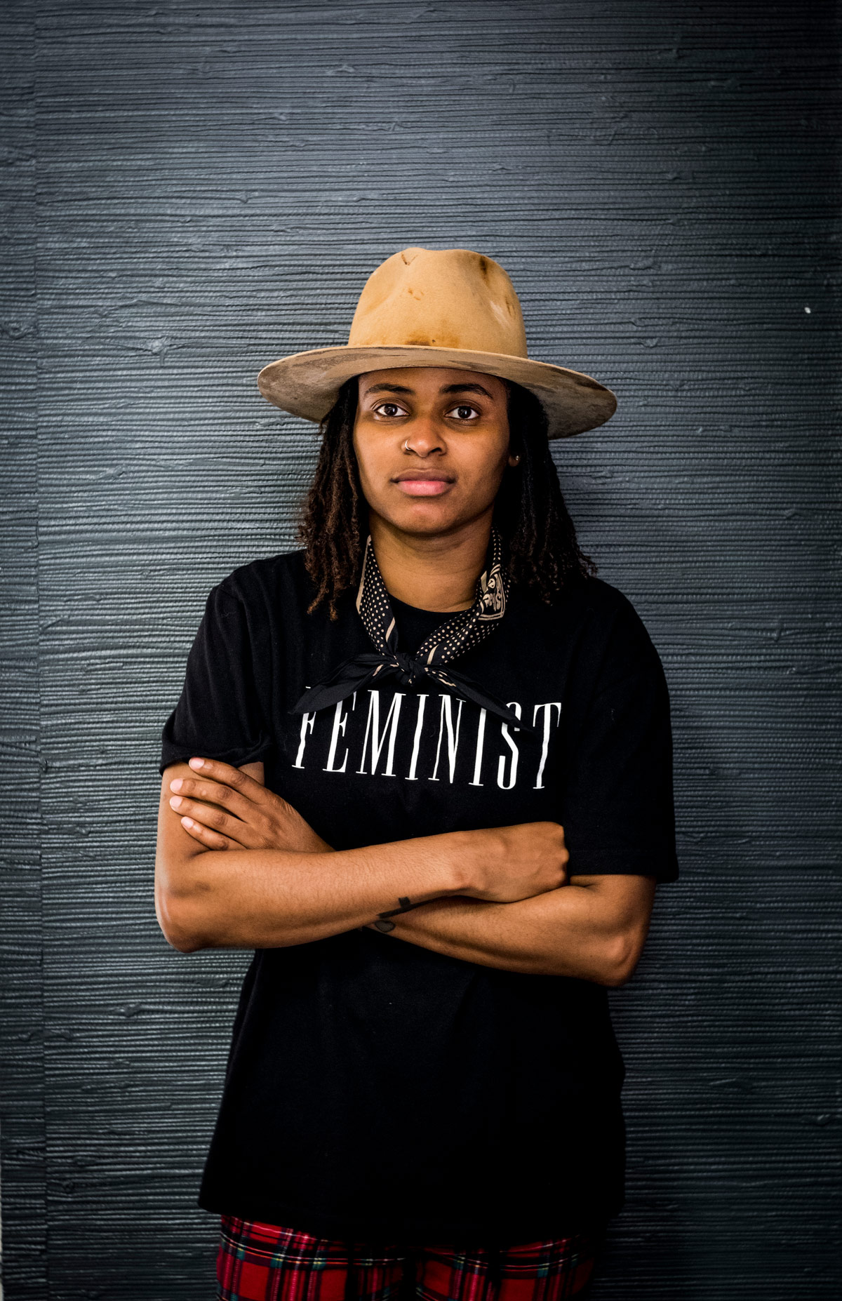 Picture of hat-maker Markia Herron