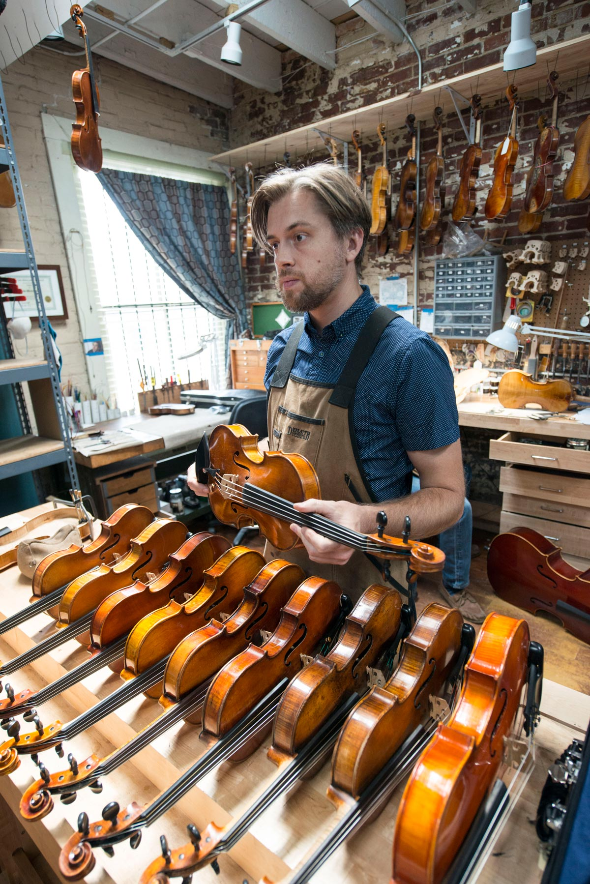 The emperor's new viola: a 1938 instrument makes its way from Little Rock to Tokyo Imperial Palace