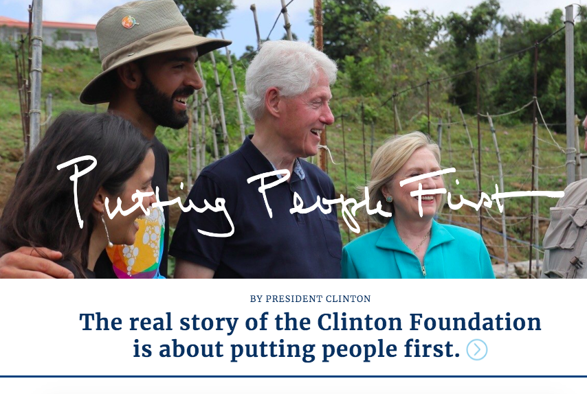 Clinton family charity report suggests a broader followup - Arkansas Times