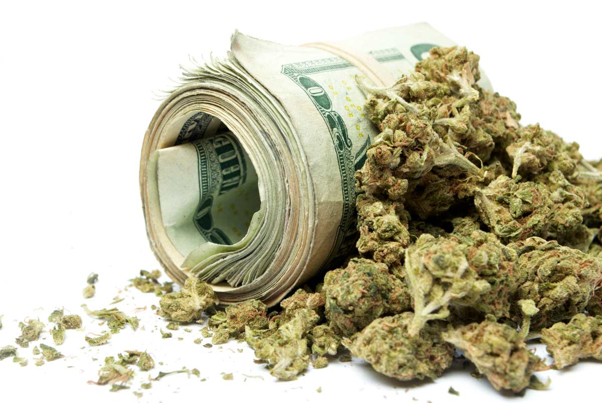 The cost of cannabis
