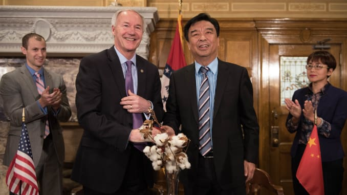 arktimes.com: Governor speaks out against Asian targeting. Maybe he should call some Arkansas congressmen and legislators