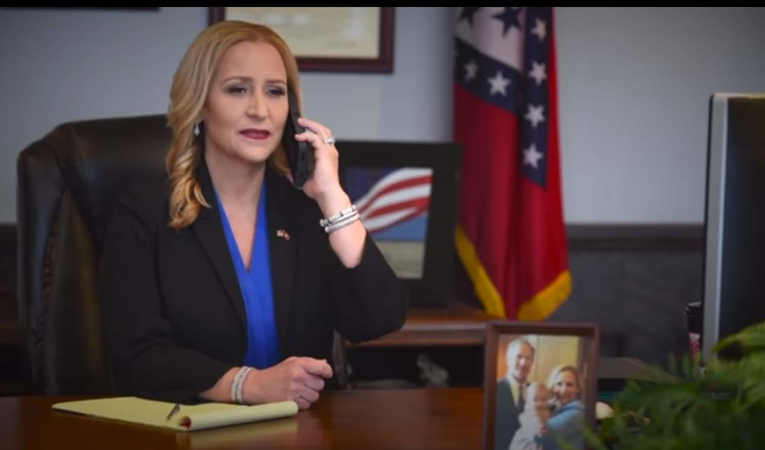 Leslie Rutledge's TV tab was $2.2 million in fiscal 2020