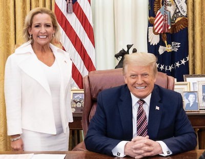 Taxpayers sue Attorney General Leslie Rutledge for spending state money to help Donald Trump and herself - Arkansas Times
