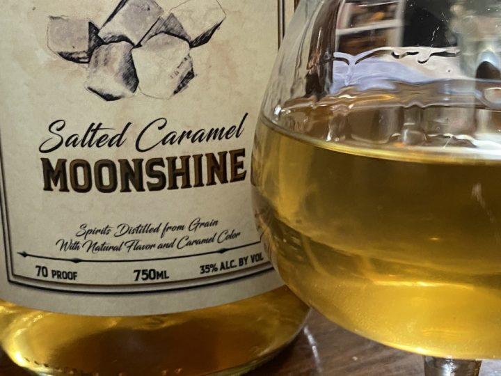 salted caramel moonshine