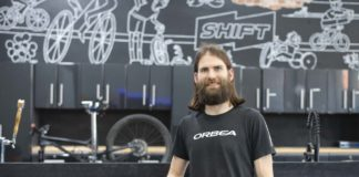 PIcture of Shift Modern Cyclery owner Frank Webber