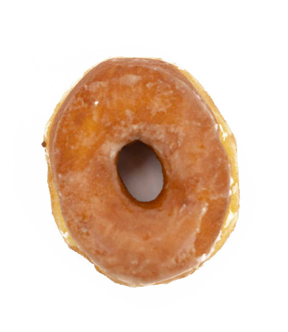 picture of glazed donut at Community Bakery