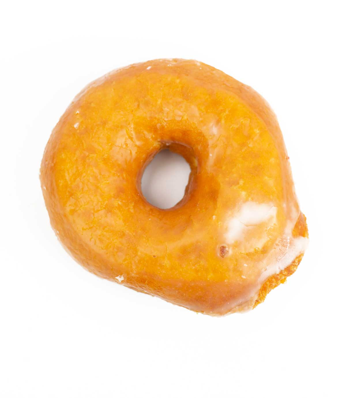 picture of glazed donut from Hurt's in Little Rock