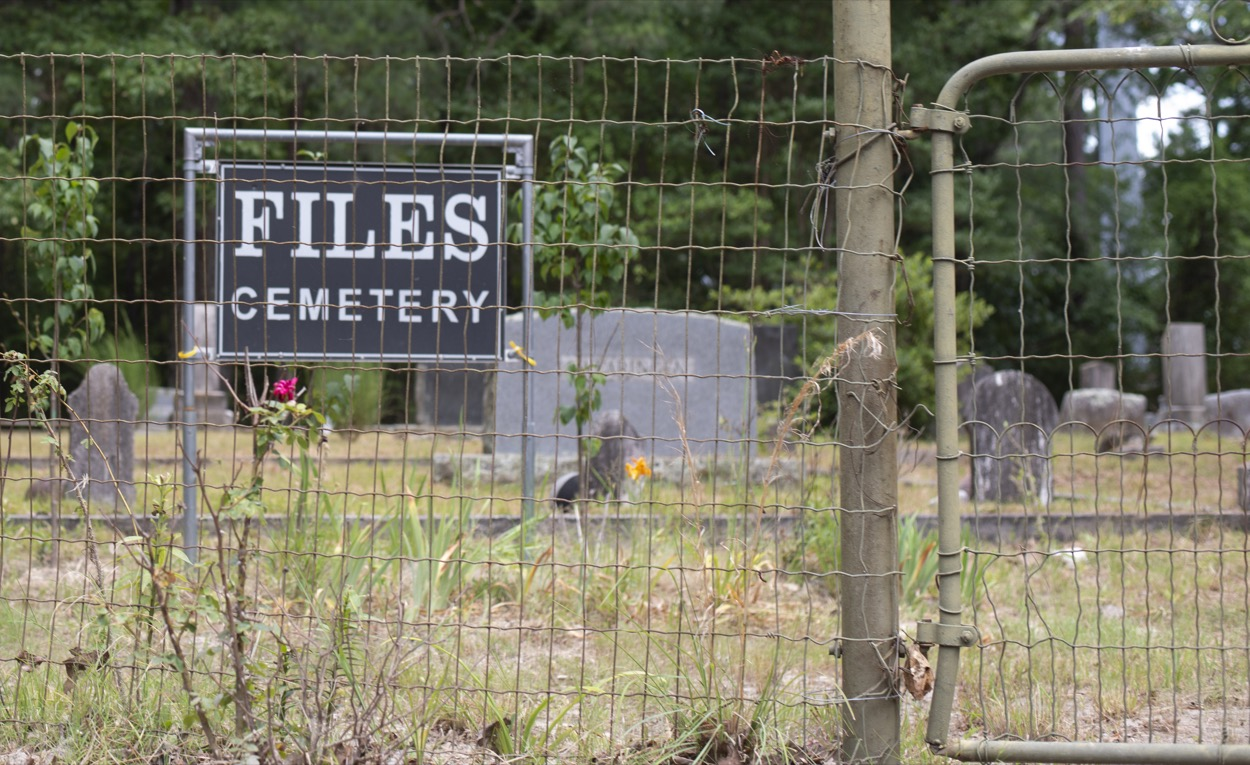 picture of Files Cemetery in Hot Springs